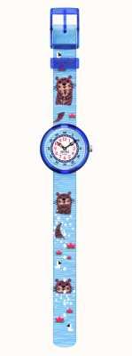 Flik Flak | wie kein Otter | Meeresschätze | blaues recyceltes Haustierband | FBNP172