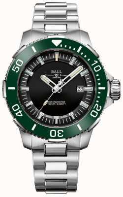 Ball Watch Company Deepquest Keramikuhr mit grünem Zifferblatt DM3002A-S4CJ-BK