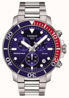 Tissot Seastar 1000 Quarz-Chronograph blau T1204171104103