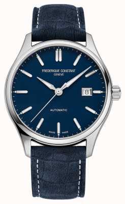 Frederique Constant Classic Index Automatik 40 mm blaues Lederarmband FC-303NN5B6