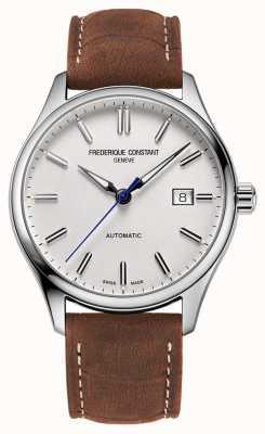 Frederique Constant Classic Index Automatik 40 mm braunes Leder FC-303NS5B6