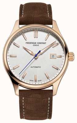 Frederique Constant Klassisches rosévergoldetes Index-Automatikgehäuse FC-303NV5B4