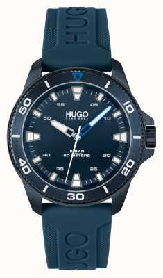 HUGO # streetdiver lässig blau blau 1530223