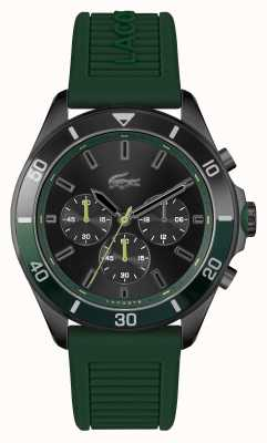 Lacoste Tiebreaker grüne Silikonuhr 2011153