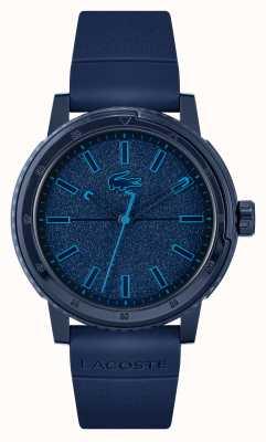 Lacoste Challenger blaues Silikonarmband 2011083