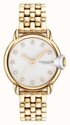 Coach Arden vergoldete Damenarmbanduhr 14503819