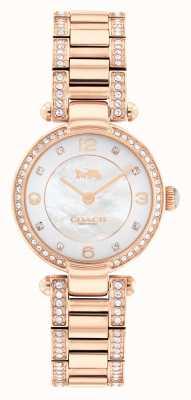 Coach | cary | roségoldenes Armband | Kristallset | 14503838