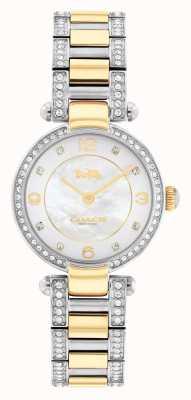 Coach | cary | zweifarbiges Armband | Kristallset | 14503840