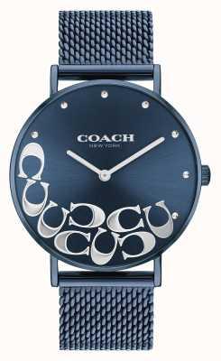 Coach Perryblaues Mesh-Armband für Damen 14503824