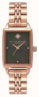 Olivia Burton Himmlische Nordsternuhr mit rechteckigem Zifferblatt OB16GD80