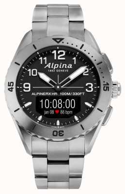 Alpina | alpinerx am Leben | Titan-Smartwatch | AL-284LBBW5TAQ1B
