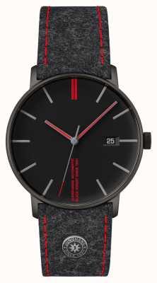 Junghans Form a edition 160 Uhr mit schwarzem Zifferblatt 27/4131.00