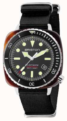 Briston Diver Pro Acetat schwarzes Nato-Armband 21644.SA.T.1.NB