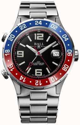 Ball Watch Company Roadmaster Pilot gmt Limited Edition schwarzes Zifferblatt DG3038A-S2C-BK