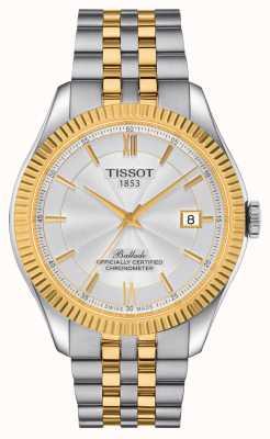 Tissot | Ballade | powermatic 80 siliculm | zweifarbiges Armband | T1084082227801