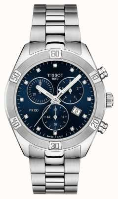 Tissot Damen pr 100 sport chic chronograph T1019171104600