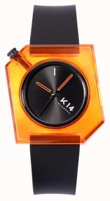 Klasse14 K14 Think Orange 40mm schwarzes Silikonarmband WKF19OE001M