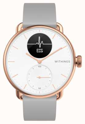 Withings Scanwatch 38mm Roségold Hybrid Smartwatch mit EKG HWA09-MODEL 5-ALL-INT