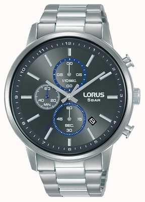 Lorus Chronograph quarzgraues Zifferblatt mit Sonnenschliff RM399GX9