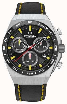 TW Steel Fast Lane CEO Tech Limited Edition Uhr Gelbe Details CE4071