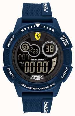 Scuderia Ferrari Apex superschnelles blaues Silikonarmband 0830858