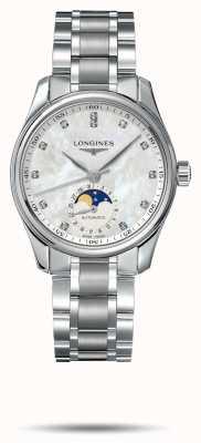 Longines Master Collection Damenarmband aus Edelstahl L24094876