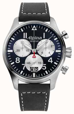 Alpina Startimer Fliegerquarz-Chronograph AL-372NS4S6