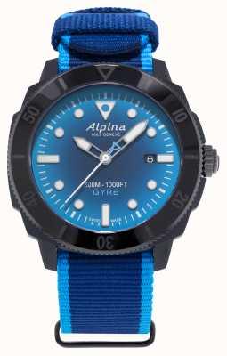 Alpina Limited Edition seastrong Taucherkreisel geräuchert blau AL-525LNSB4VG6