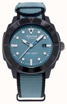 Alpina Limited Edition seastrong Diver Gyre Automatik blau AL-525LNB4VG6BLK