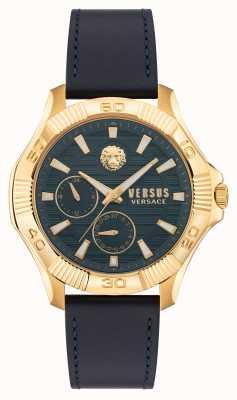 Versus Versace Versus dtla blaues Lederarmband VSPZT0221
