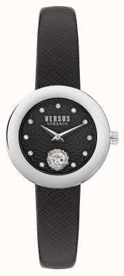 Versus Versace Versus lea petite extensi schwarzes Armband VSPZJ0121