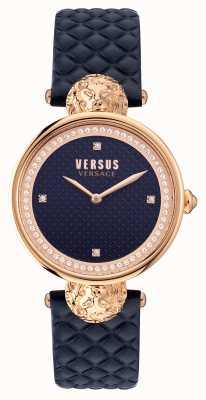 Versus Versace Versus South Bay gestepptes blaues Armband VSPZU0321