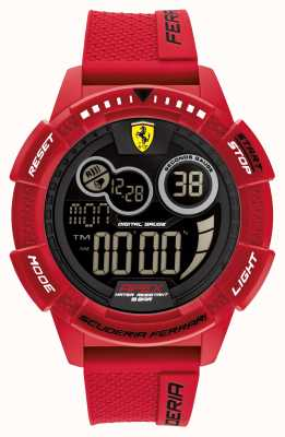 Scuderia Ferrari Apex superschnelles rotes Silikonarmband 0830857