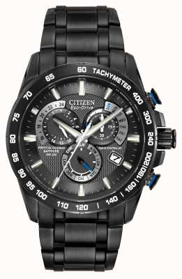 Citizen Ferngesteuerte Ewiger Kalender Chronograph AT4007-54E