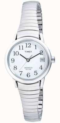 Timex Damen Edelstahl erweiterbar T2H371 Damenuhr